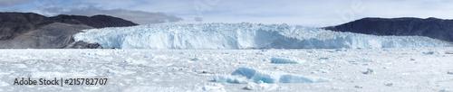 Obraz na płótnie Lodowiec. Lodowiec Eqi, Grenlandia