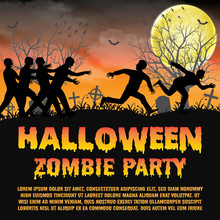 Halloween Zombie Party With Zombies Escape