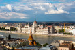 Cityscape of Budapest, with the Hungarian Parliament and the Danube