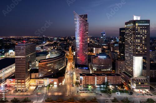 Fototapety, obrazy: Warsaw - West side