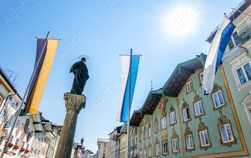 In de dag Historisch mon. bad toelz - bavaria