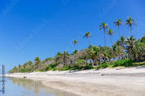 Staande foto Oceanië Tropical beach paradise in Fiji