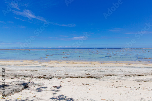 Staande foto Oceanië Midday sun over the Coral Coast of Fiji