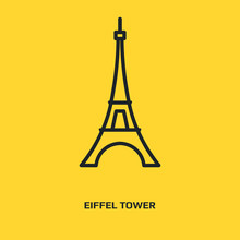 Eiffel Tower Logo Graphic Desi...