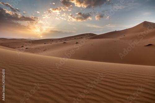 Photo  Sahara desert ,great landscape in Morocco