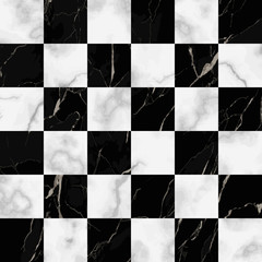 Marble Luxury Check Seamless Pattern