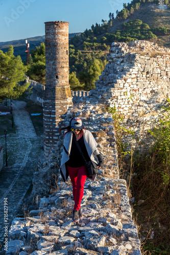 Berat , old small city in Albania Wallpaper Mural