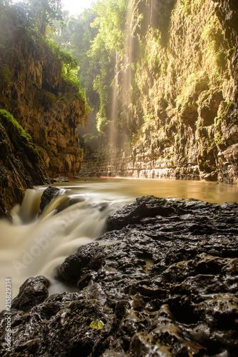 Cuadros en Lienzo Green Canyon, Pandagaran, Java Central, Indonesia.