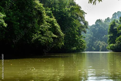 Платно Green Canyon, Pandagaran, Java Central, Indonesia.