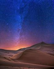 Stary Night In Sahara