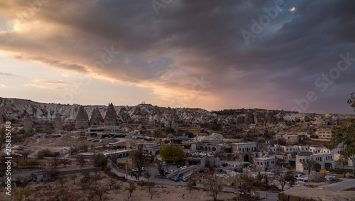 Spoed Foto op Canvas Zalm Wonderful landscape in Cappadocia , Turkey