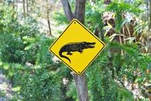 Australische Schilder Mit Warn...