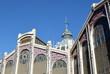 Espagne, Valence, marché central, art nouveau, dôme, intérêt culturel.