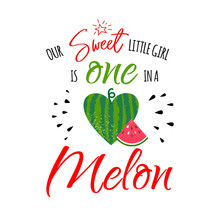 One In A Melon Girl