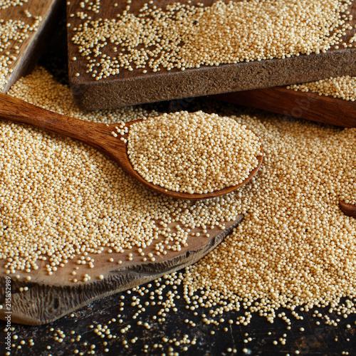 Obraz Raw Organic Amaranth grain - fototapety do salonu