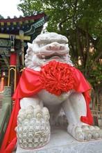 Chinese Guardian Lion, Hong Kong, China