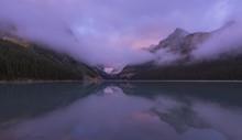 Lake Louise At Dawn.