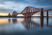View Of Forth Rail Bridge At S...