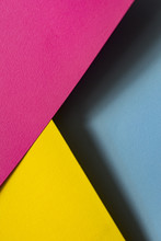 Colourful Papers In Abstract Forms