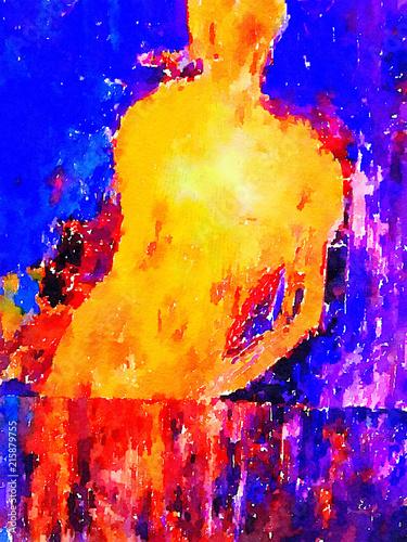 kobietaw-lustrze-abstrakcja