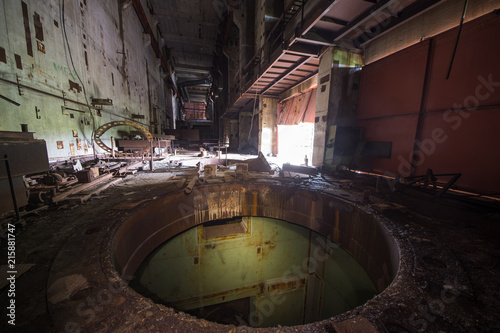 Fotografia Unfinished Cooling Tower Of The Chernobyl