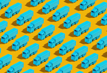 Blue Trucks/lorry.