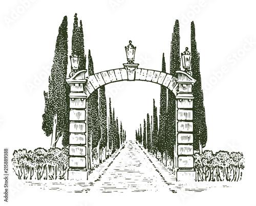 Fotografía Vintage gates