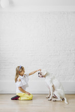 Child And Pet Love