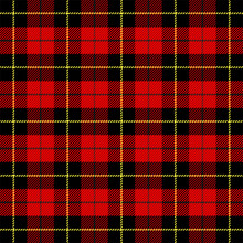 Tartan Pattern. Scottish Cage Background
