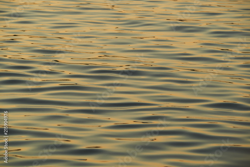 Abstract Water at Sunset