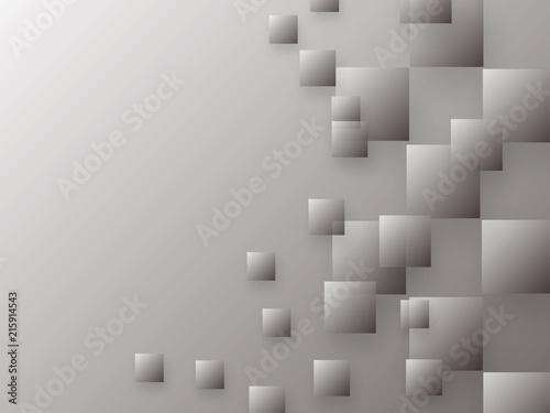 Obrazy szare szare-kwadraty
