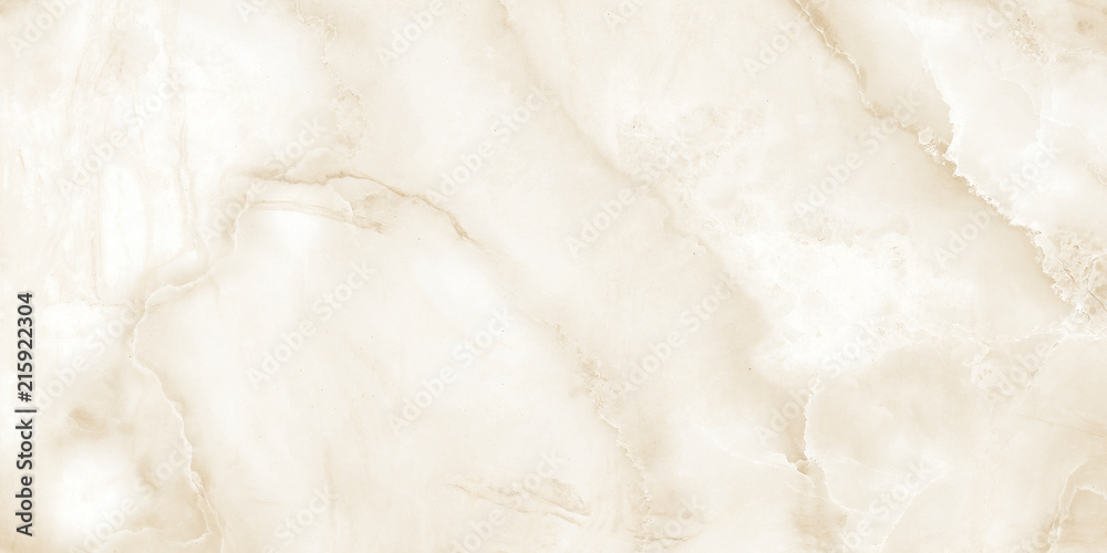 Fototapety, obrazy: Onyx marble, Beige marble texture or marble background. marble for interior exterior decoration design business and industrial construction concept design, high resolution marble