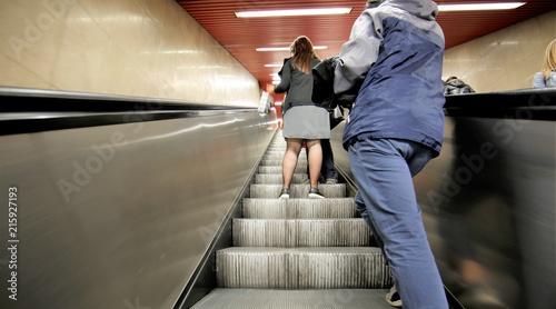Fotomural Scale mobili in metropolitana