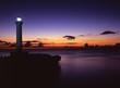沖縄残波岬の夕景