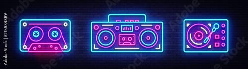 Fotografía  Big collection neon sing