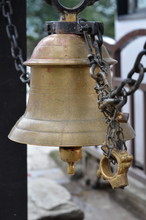 The Bell In The Hindu Temple
