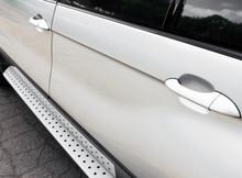 Part Of The Gray Car. Car Door...