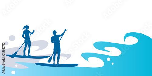 Fotografija Stand up paddling - 50