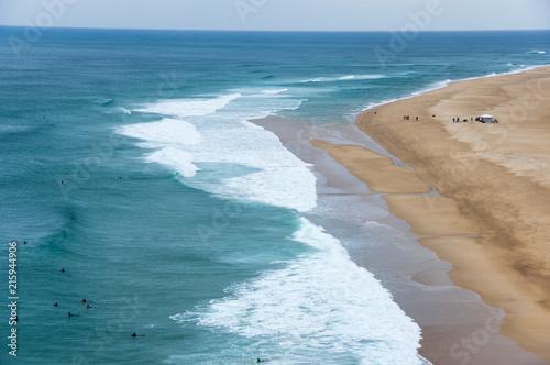 Fotobehang Kust The coast of Atlantic ocean