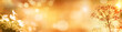 Leinwanddruck Bild - Colorful autumn background panorama