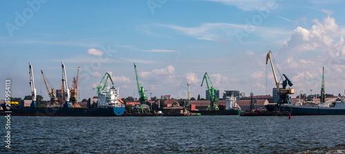 In de dag Poort Klaipeda Seaport
