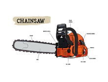Vector Chainsaw - Petrol Chain...