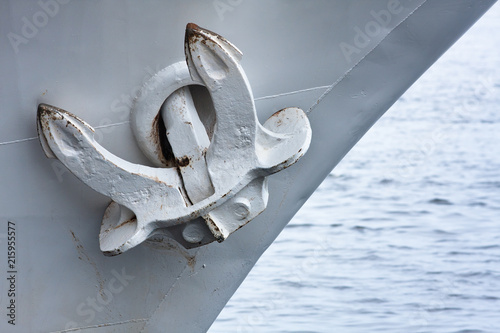 Photo anchor of the steamship