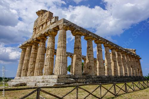 Fotografie, Obraz  Paestum Temple