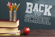 canvas print picture Back to school concept