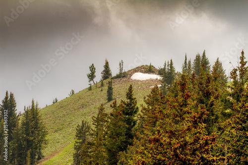 Poster Hill glacier