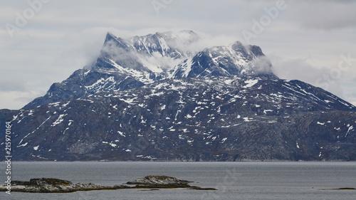 Poster Arctica Nuuk. Greenland