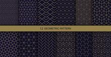 Vector Geometric Seamless Patterns. Abstract Geometric  Hexagonal  Graphic Design Print 3d Cubes Pattern. Vector Seamless  Geometric Cubes Pattern.