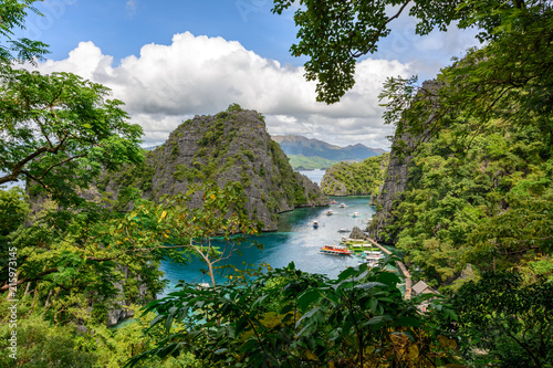 Foto op Aluminium Guilin Philippines landscape - Kayangan Lake on Coron Island, Palawan