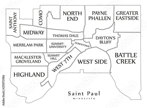 Modern City Map - Saint Paul Minnesota city of the USA with ... on hibbing minnesota on map, crookston minnesota on map, saint louis missouri on map, lakeville minnesota on map, saint paul minnesota christmas, roseville minnesota on map, ely minnesota on map, champlin minnesota on map, mankato minnesota on map, oakdale minnesota on map, minneapolis minnesota on map, moorhead minnesota on map, pipestone minnesota on map, bloomington minnesota on map, rosemount minnesota on map, brainerd minnesota on map, rochester minnesota on map, buffalo minnesota on map, new hope minnesota on map, duluth minnesota on map,